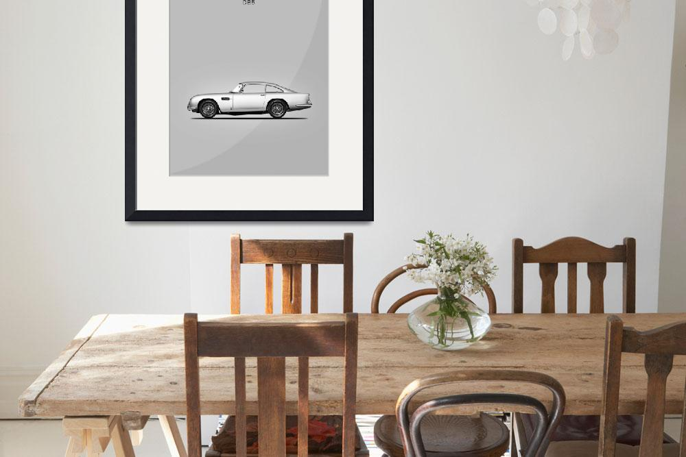 """Aston Martin DB5 1965&quot  (1965) by mark-rogan"