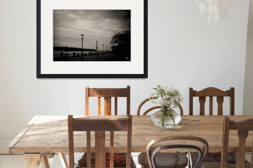 """""""45451 Lamplight at the River&quot  by GestaltImagery"""