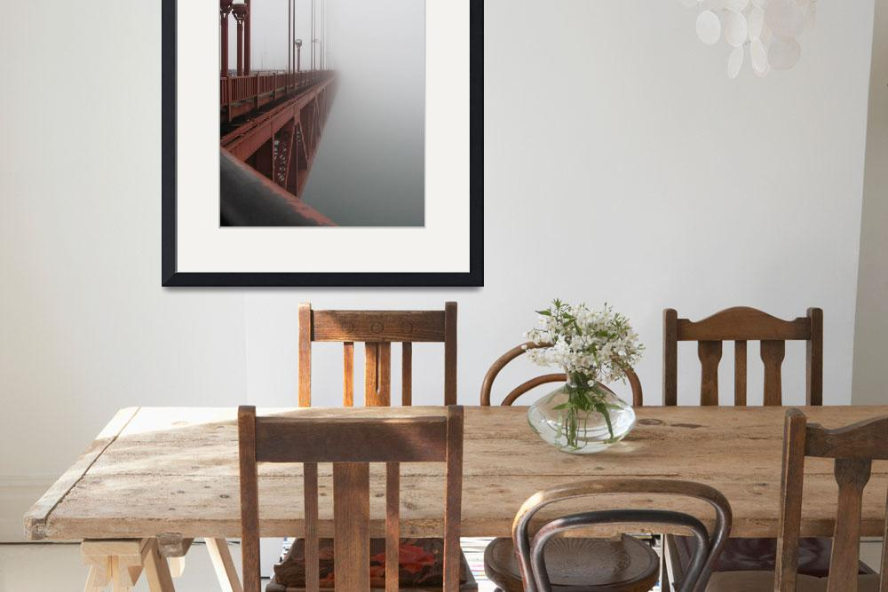 """""""Golden Gate Bridge Disappears""""  (2007) by ColorfuLife"""