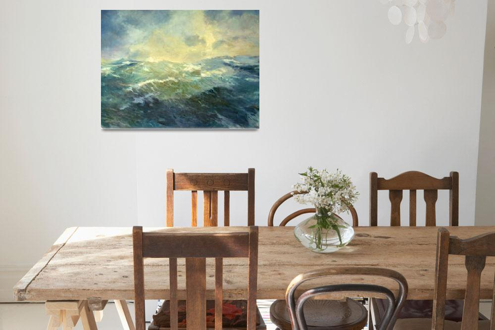 """""""Storms at Sea I&quot  by marilynmuller"""