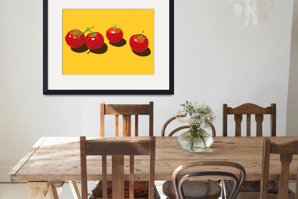 """""""FourTomatoes&quot  by CherylGraham"""