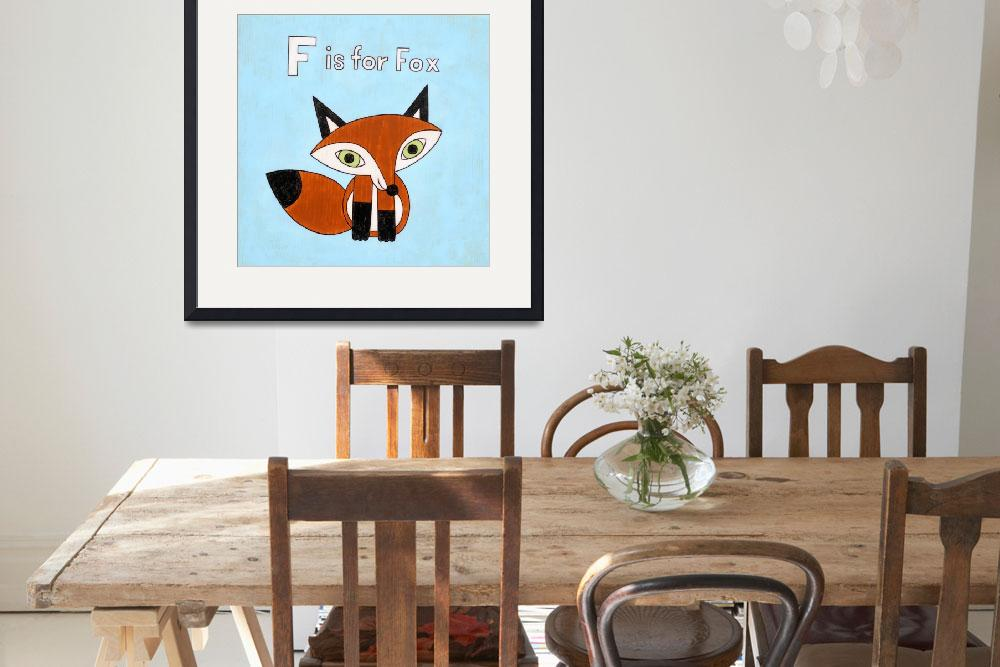 """F is for Fox""  by matthewporter"