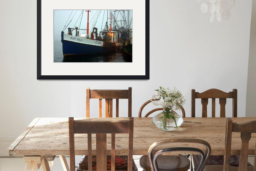 """""""Fishing Boat Morning&quot  by PJPHOTO"""