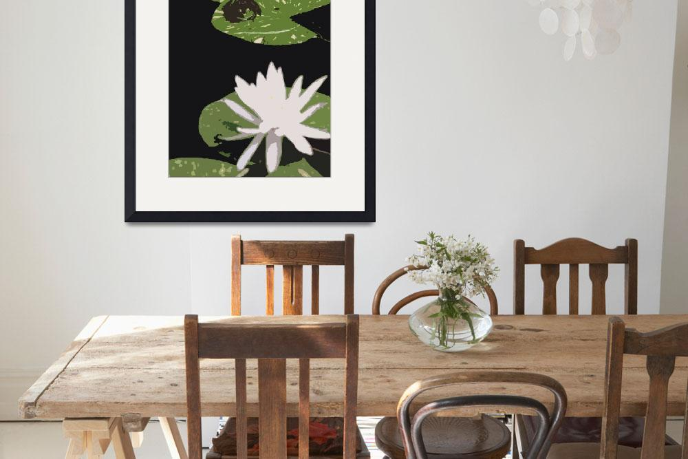 """""""Cut of Frog and Lily by Bill McAllen""""  by McallenPhotography"""
