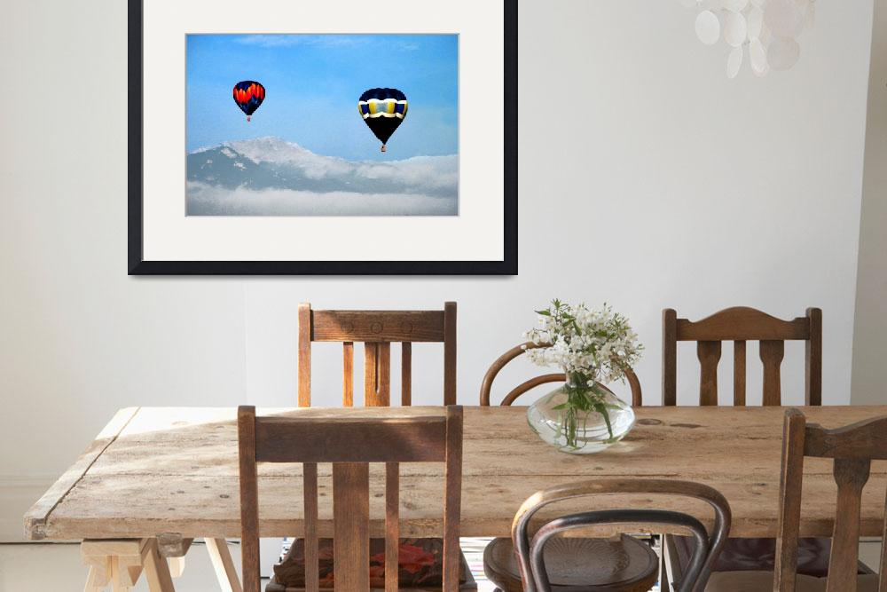 """Hot Air Balloons""  (2010) by ralphnelsen"