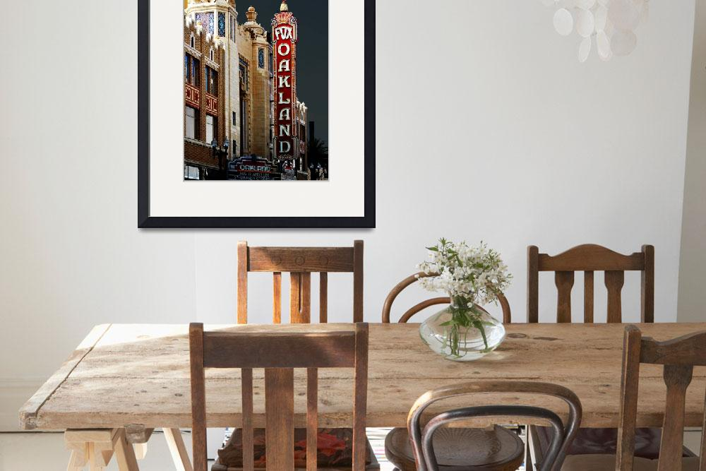 """""""Fox Theater in Oakland California&quot  by wingsdomain"""