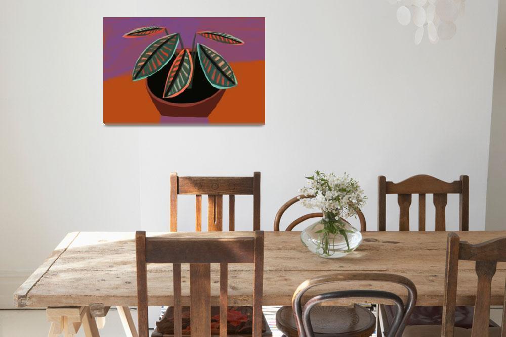 """Bontaical: Croton Plant 2""  (2016) by pfleghaar"