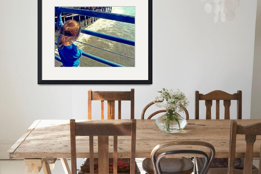 """""""Autism Creates:  Girl on a Pier&quot  (2012) by SVPhotoArt"""