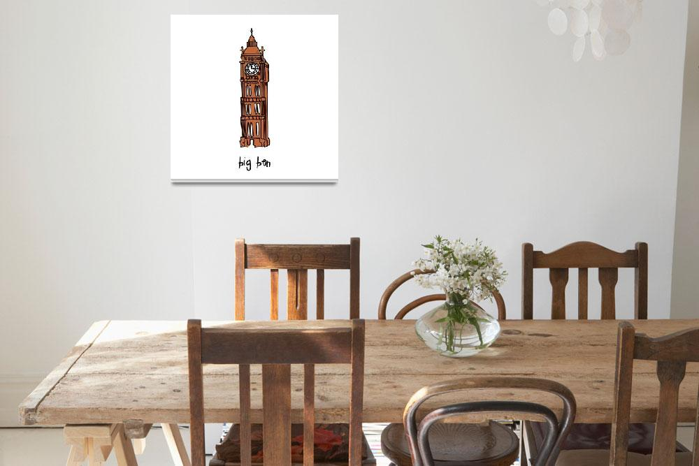 """""""bigben.special&quot  by traciebrownart"""