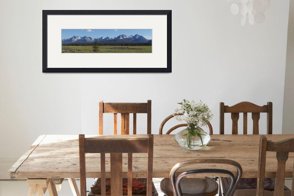 """""""Mountains-Stanley idaho""""  (2012) by JustBecause"""