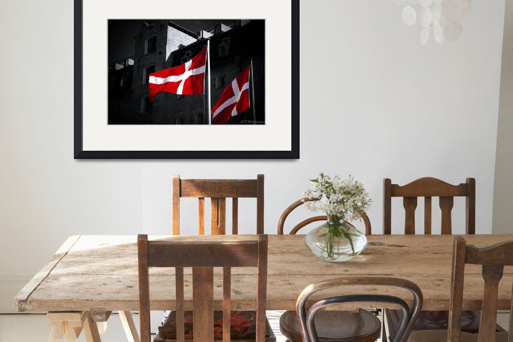 """Danish Flag&quot  by PhilippNB"