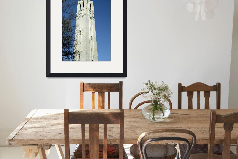 """""""NC State, Memorial Bell Tower&quot  by fineartphoto"""