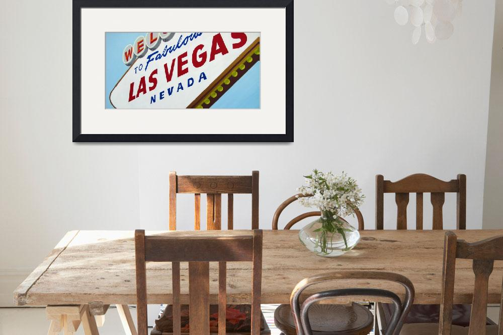 """Tribute to Vegas""  (2009) by sladeroberts"