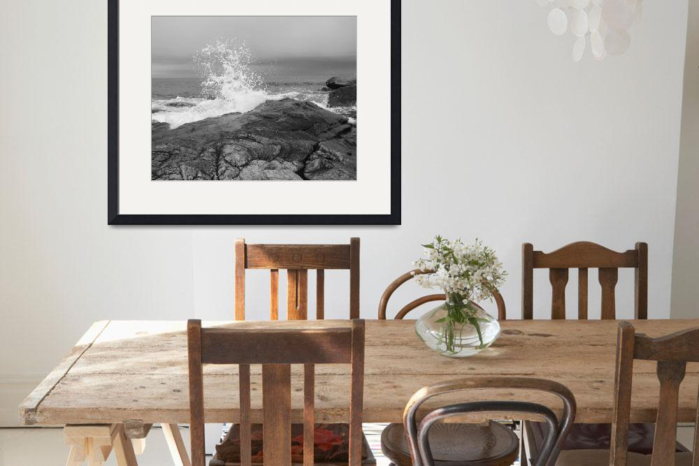 """""""Cape Ann Crashing Wave&quot  by gpage"""