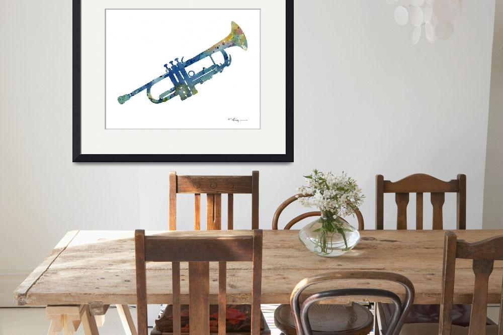 """Trumpet&quot  (2017) by k9artgallery"