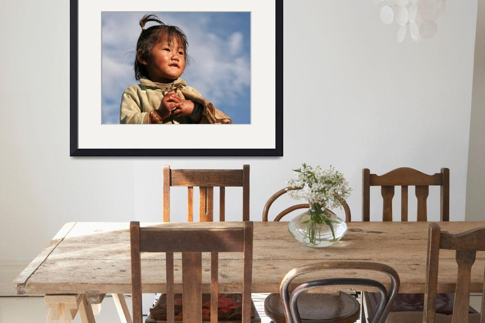 """""""Nepalese girl - looking to the future&quot  (2008) by StephenPayne"""