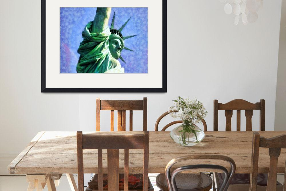 """Statue of Liberty&quot  (2012) by printsforwalls"