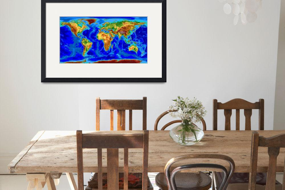 """""""World&quot  by Hein"""