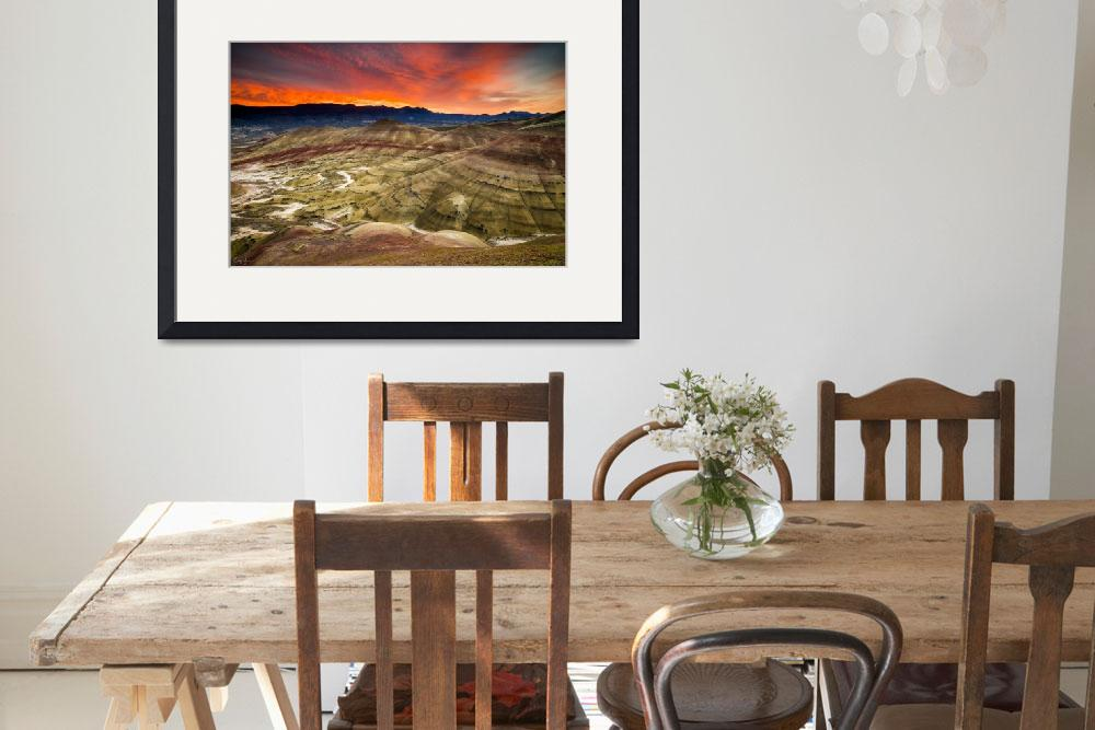 """""""Painted Hills Sunrise by Cody York-1469&quot  by cyorkphoto"""