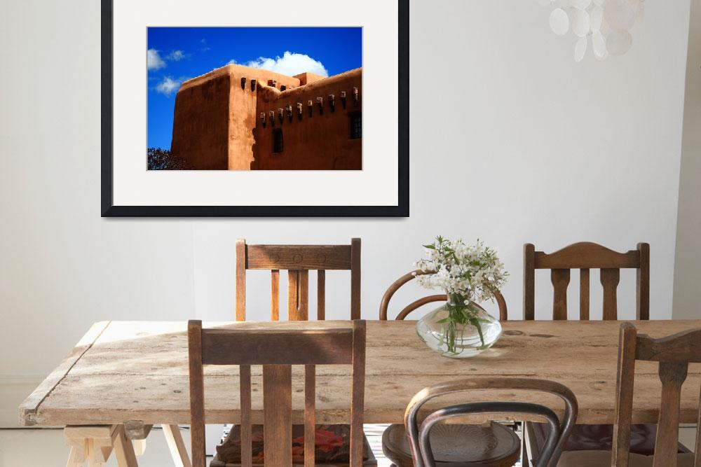 """""""Santa Fe - Adobe Building&quot  (2010) by Ffooter"""