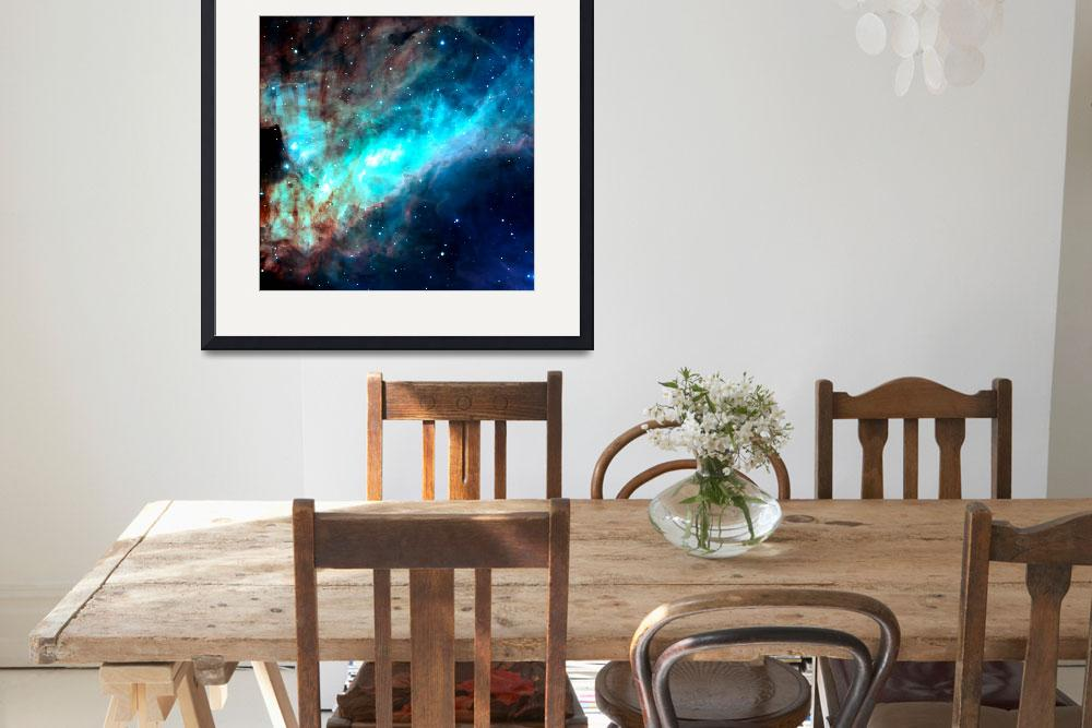 """""""Omega Nebula European Southern Observatory Enhance&quot  (2014) by TheNorthernTerritory"""
