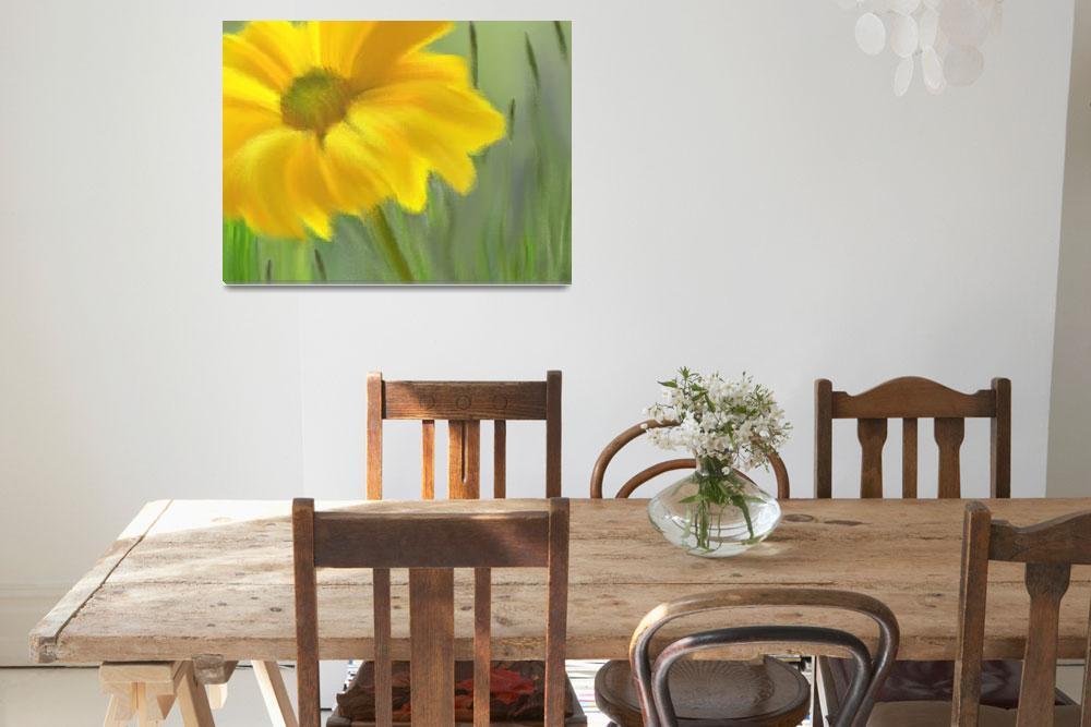 """""""Yellow Daisy-2&quot  by Ninas4otos"""