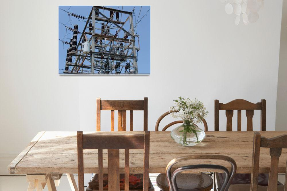 """""""N.W. Power Coop Cameron, MO Substation""""  (2012) by TheElectricOrphanage"""