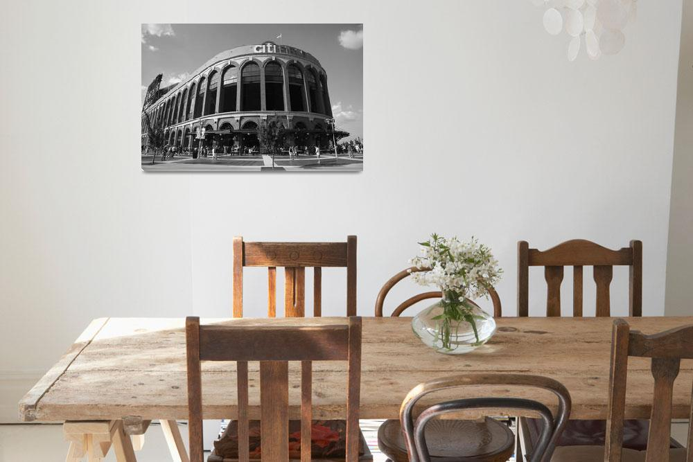 """""""Citi Field - New York Mets 2011""""  (2011) by Ffooter"""