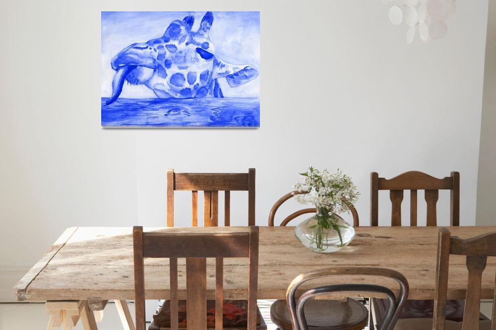 """giraffe""  (2007) by grayeyesart"