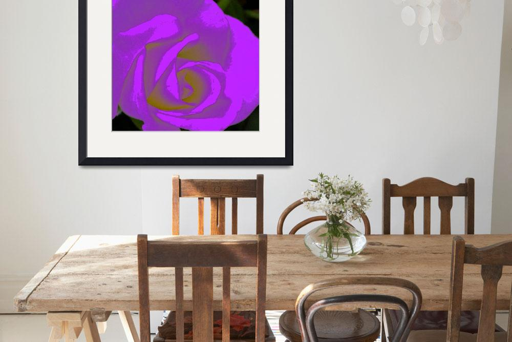 """""""Abstract Rose&quot  (2009) by Debrene"""