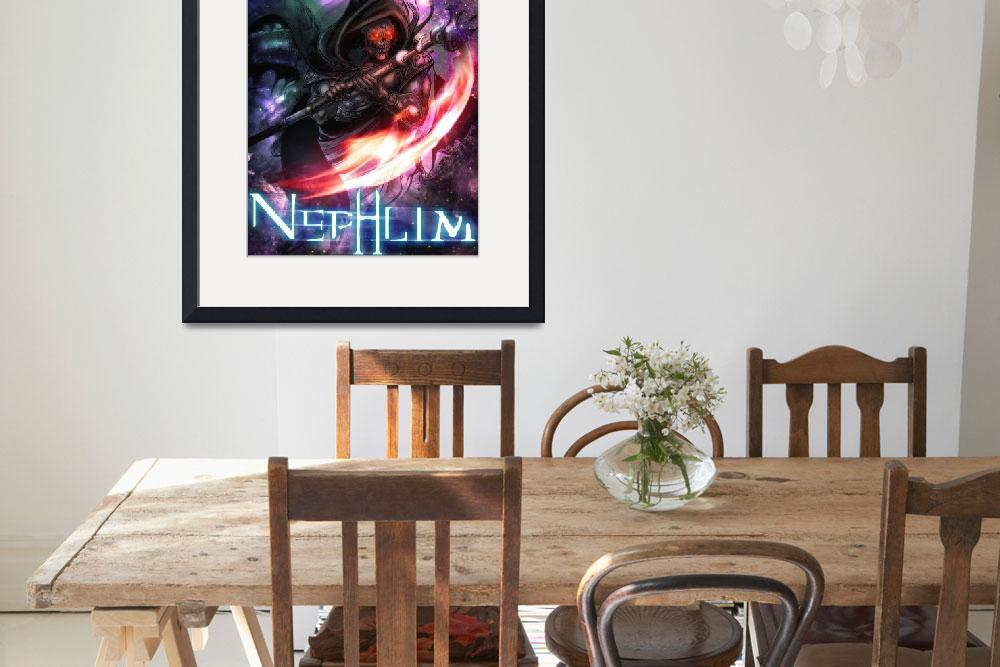"""Nephlim Character Poster 1&quot  (2012) by Fallenmangastudios"