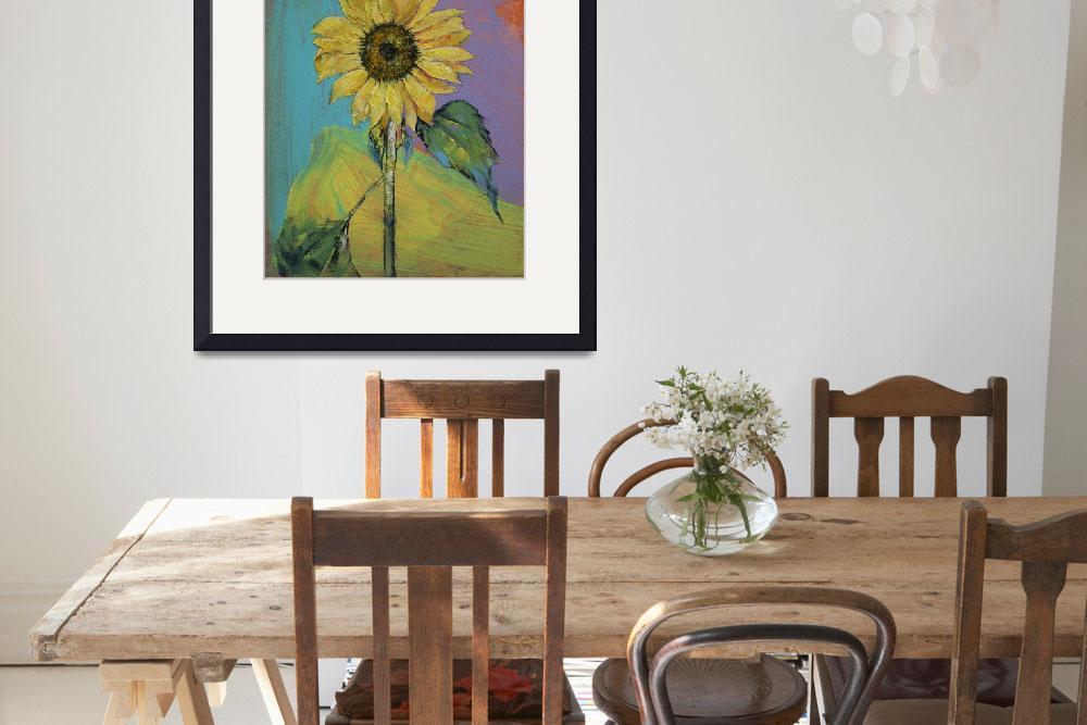 """""""Sunflower&quot  by creese"""