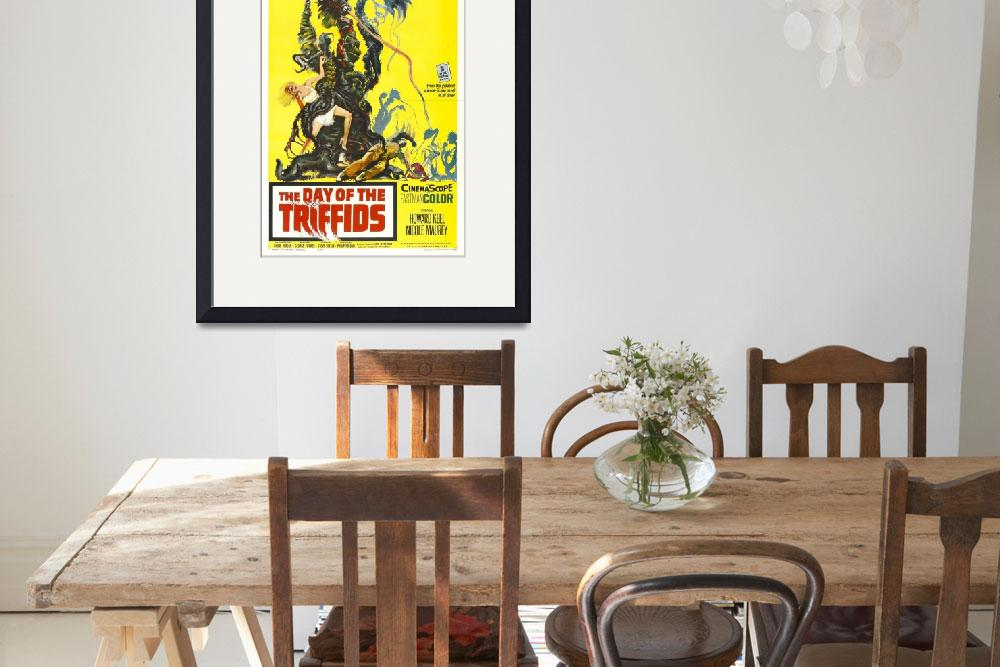 """""""Day of The Triffids Movie Poster&quot  by Alleycatshirts"""