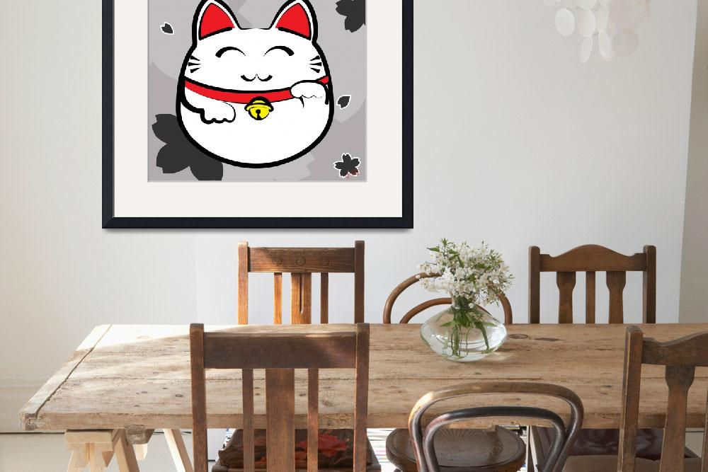 """Maneki Neko by Jana Cooksey&quot  (2011) by janacooksey"