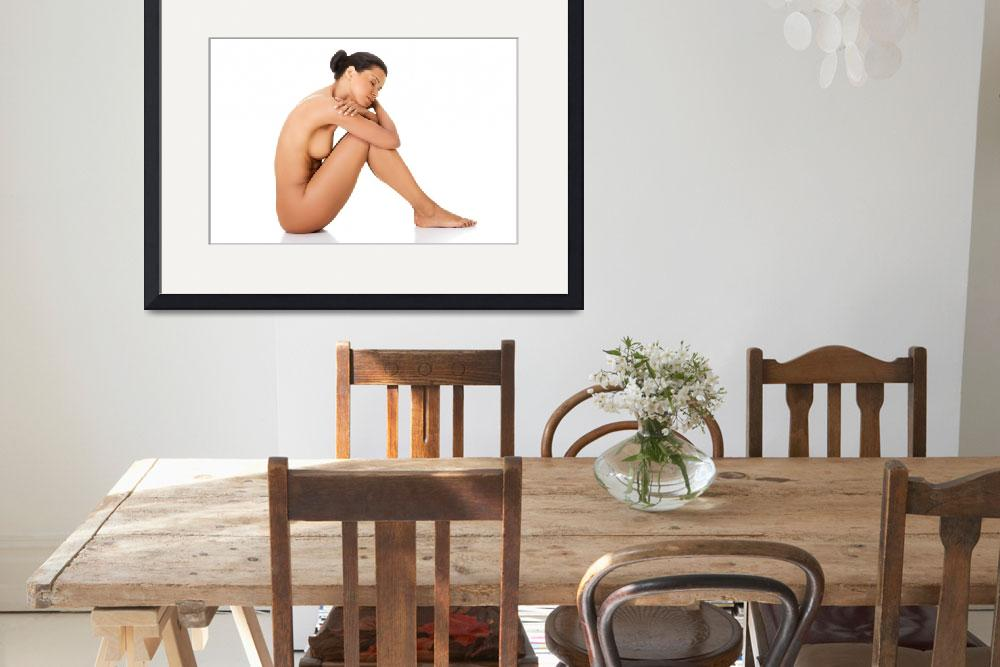 """""""Sexy fit naked woman with healthy clean skin sitti&quot  by Piotr_Marcinski"""