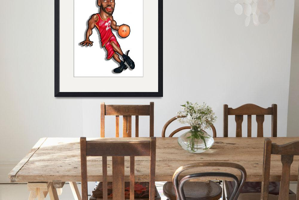 """""""LeBron James&quot  (2017) by PicturePartners"""