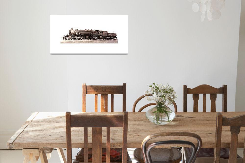 """28884 Steam Locomotive""  (2013) by TheNorthernTerritory"