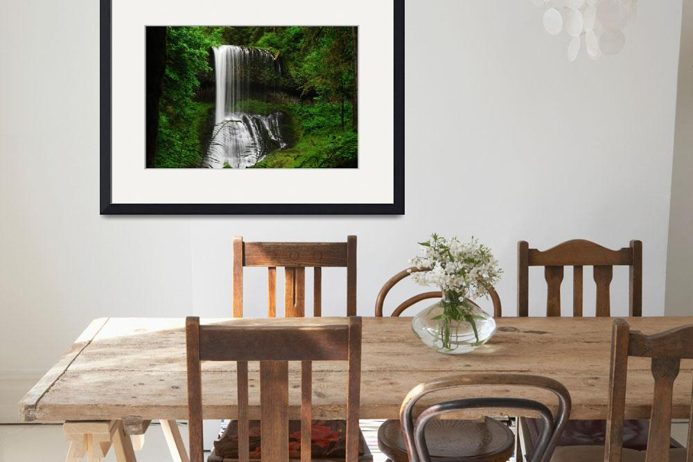 """""""Waterfall Surreal Beauty&quot  (2008) by PK_Photography"""
