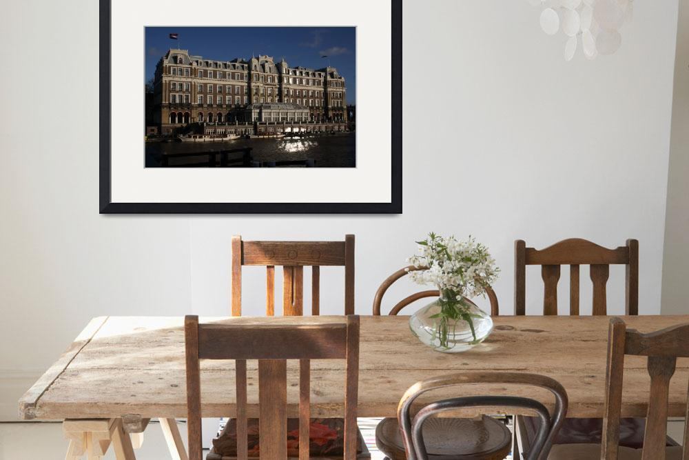 """""""Amstel Hotel&quot  by sstokhaug"""