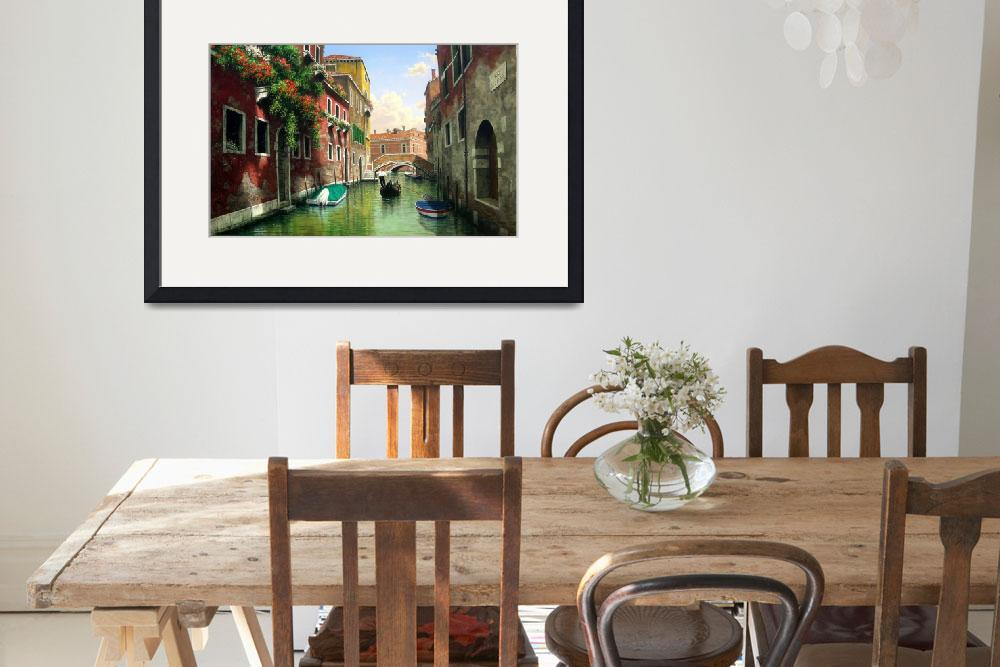 """""""Venice Italy Scenic Waterways&quot  (2015) by AnswersFound"""