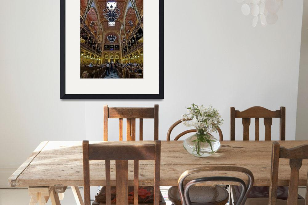 """""""The Great Synagogue, Pest, 39&quot  (2010) by PriscillaTurner"""