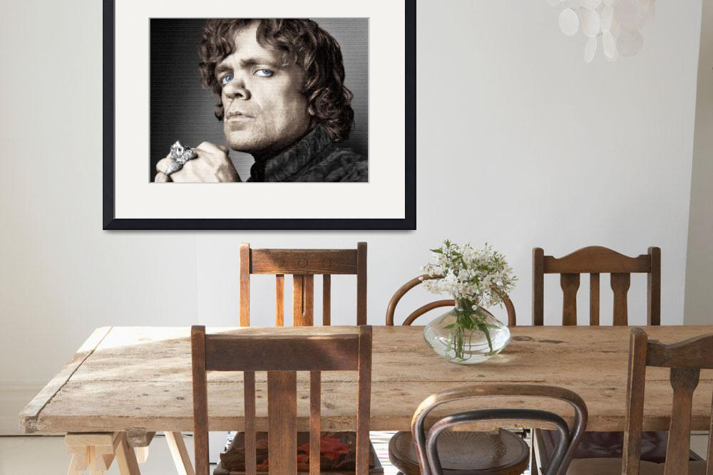 """Game of Thrones Tyrion Lannister Peter Dinklage""  by RubinoFineArt"