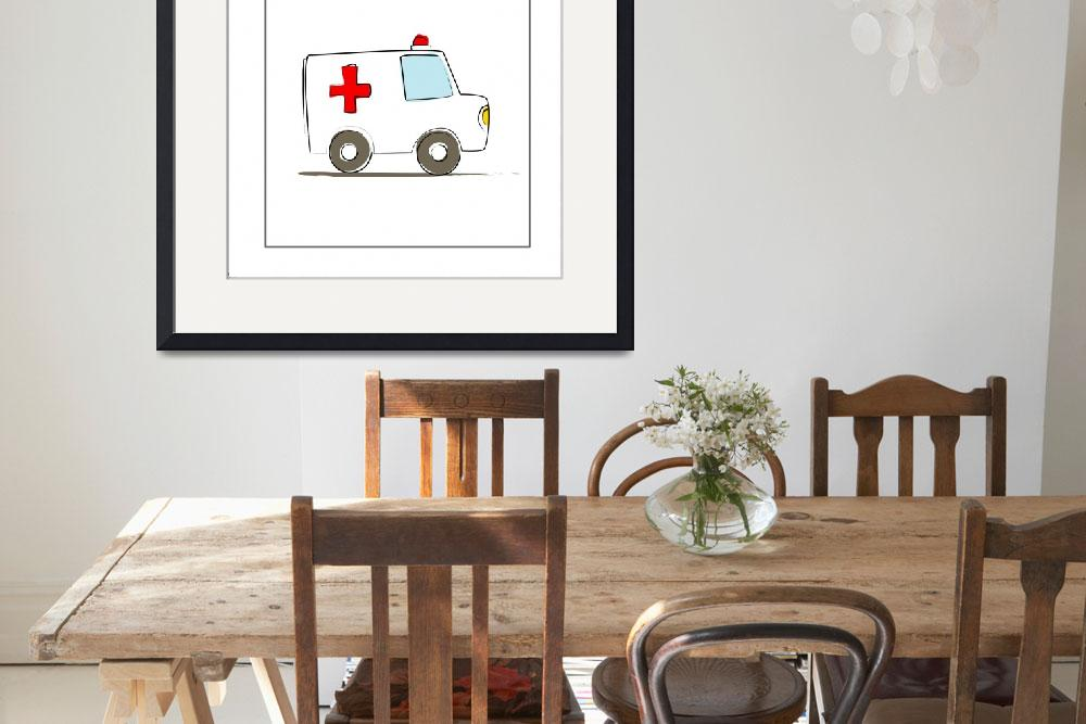 """""""Ambulance&quot  by artlicensing"""