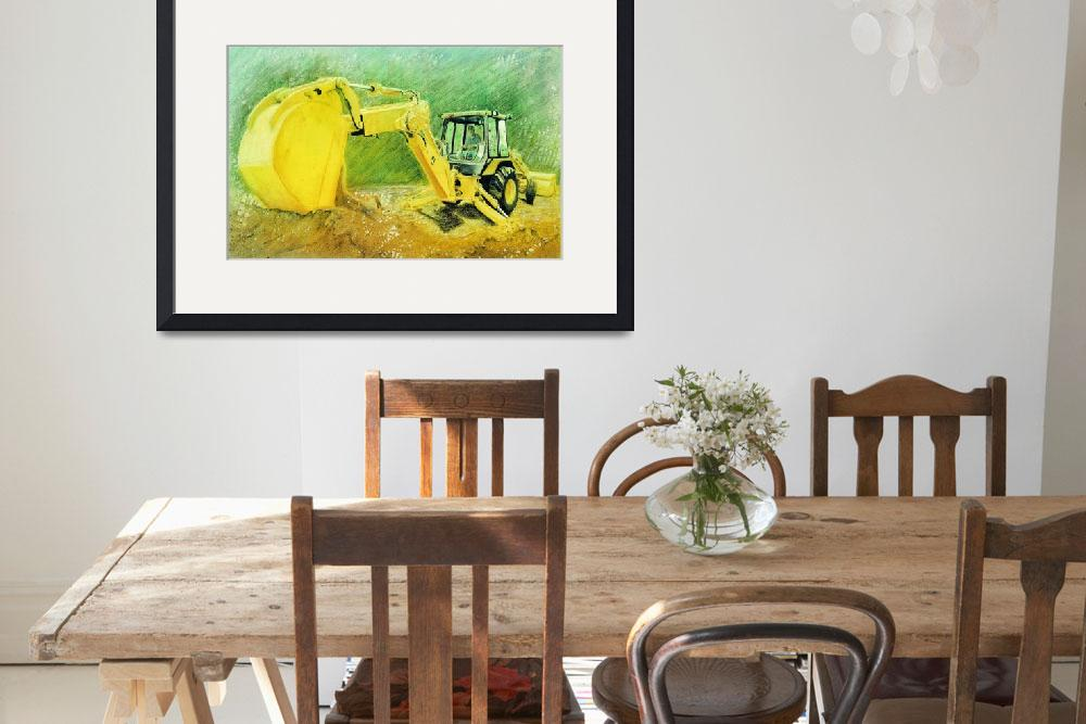 """""""Yellow-Tracktor&quot  (1990) by artefxforchrist"""