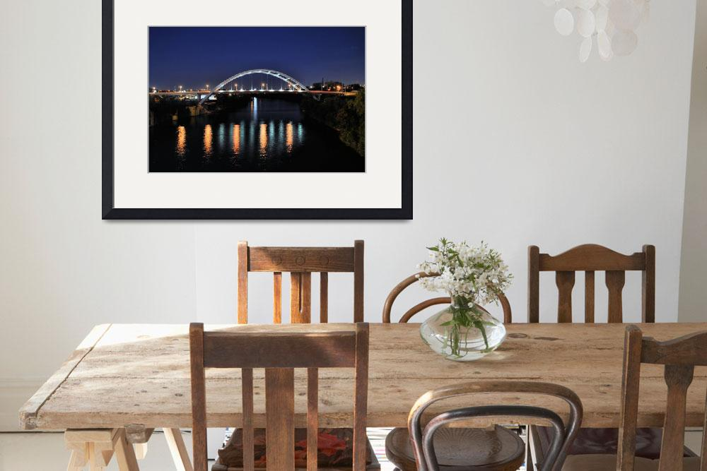"""""""Bridge over Cumberland River&quot  (2010) by KCampbell"""