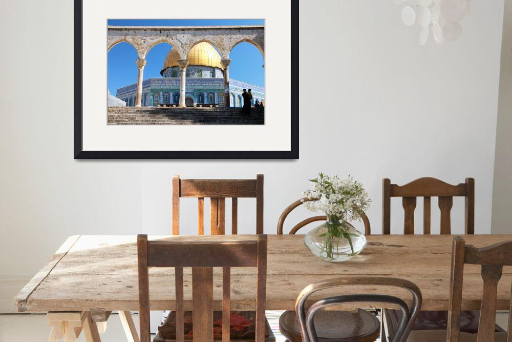 """""""Dome of the Rock&quot  by CraigWilson"""