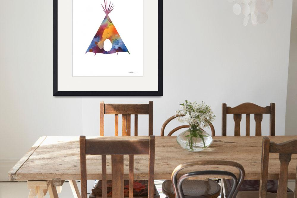 """""""Teepee&quot  (2016) by k9artgallery"""