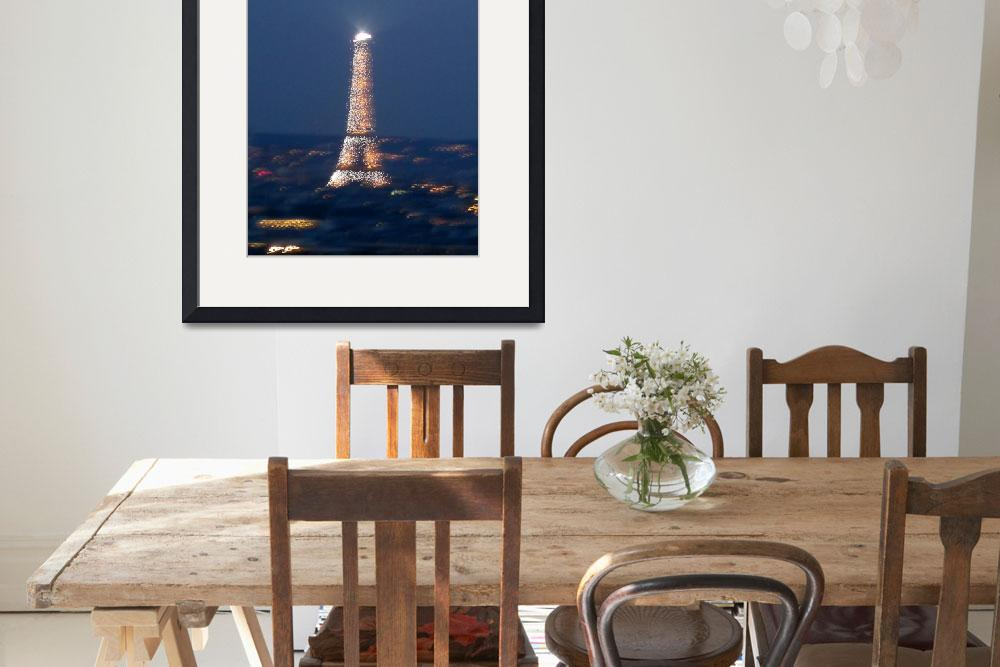 """""""Eifle Tower&quot  (2009) by mysterythatbinds"""