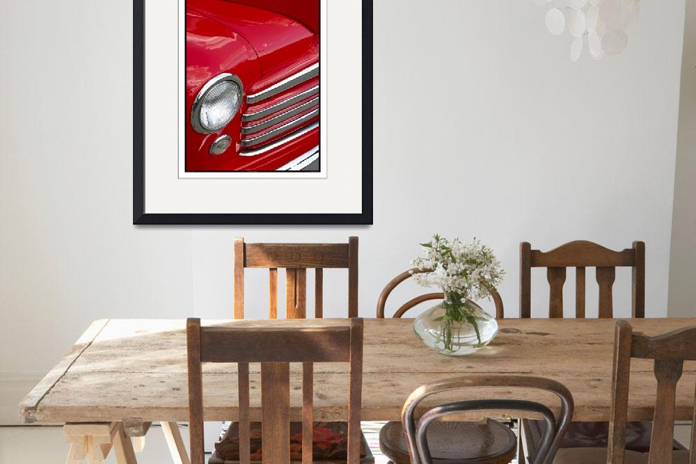 """""""Classic Car Red 07.13.07_478&quot  (2007) by paulhasara"""