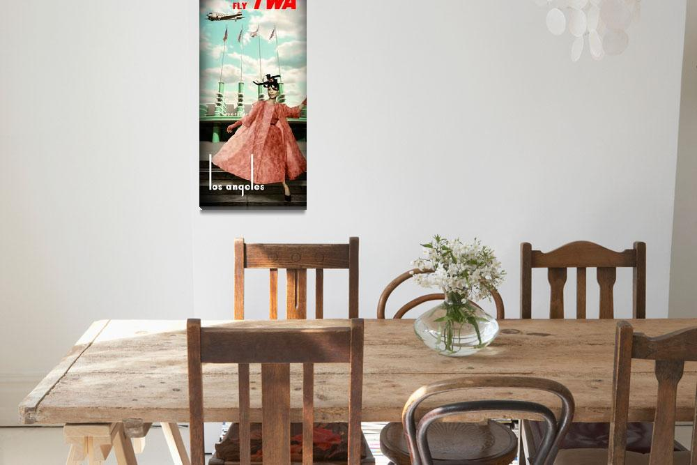 """""""fly TWA&quot  (2011) by vintagenblack"""